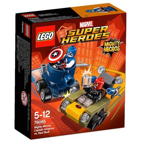 LEGO Super Heroes - Marvel - 76065 - Mighty Micros - Captain America Vs Red Skull