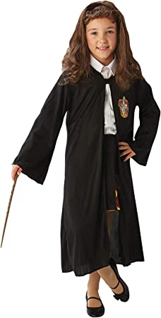 Oferta amazon: Rubie's- Harry Potter Disfraz, Color negro, talla única (300574NS)