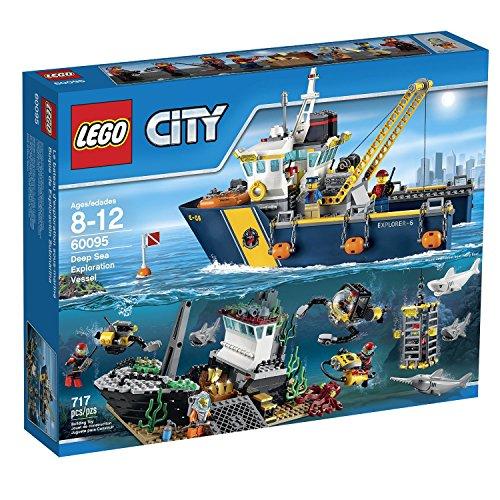 LEGO City Deep Sea Explorers - Exploration Vessel Building Kit