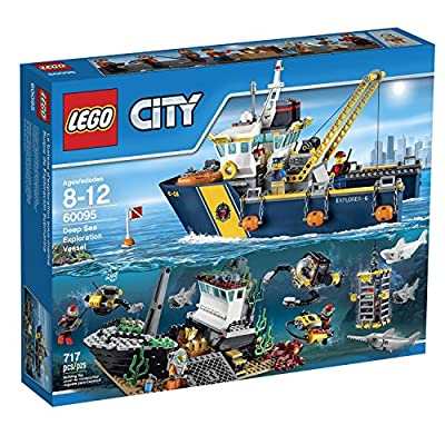 LEGO City Deep Sea Explorers - Exploration Vessel Building Kit