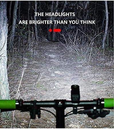 2000lm Led Torch Bike Front Light Cycling Headlight Bike Flashlight Lamp 2400mah