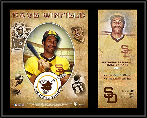 Hall Of Fame Plaque - Dave Winfield San Diego Padres 12