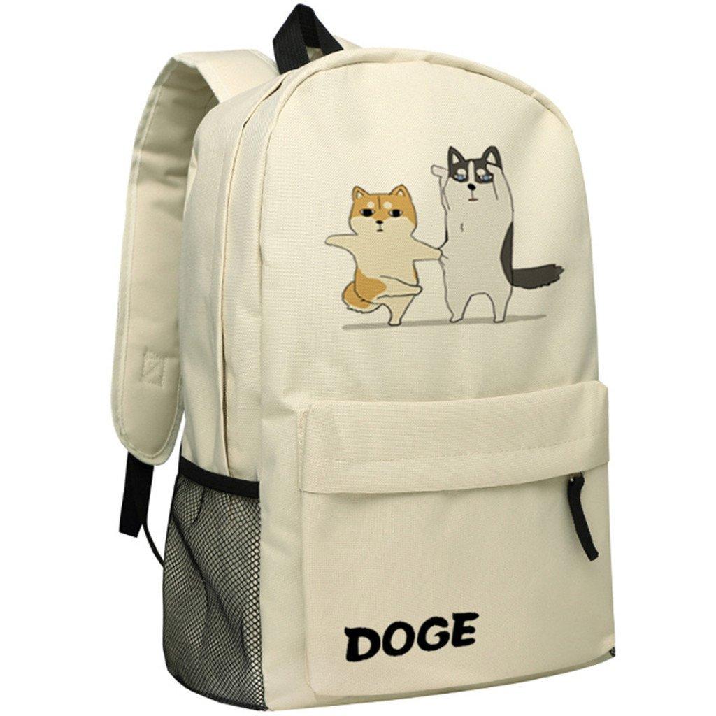 YOYOSHome Anime Doge漫画コスプレハンドバッグデイパックブックバッグ用バックパックスクールバッグ   B073GYKN5V