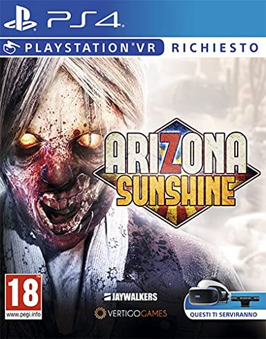 Arizona Sunshine - PlayStation 4 [Importación italiana]: Amazon.es: Videojuegos