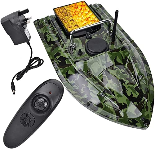 Fishing Bait Boat with Remote Control and Fish Finder [Liukouu] Picture