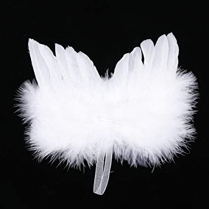 Gold Card One Piece Christmas Angel Wings for Crafts Pack of 4 SALE