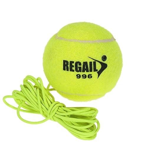 2 opinioni per Docooler Palla da Tennis di Addestramento Gomma Naturale Lana Fibra Sintetica