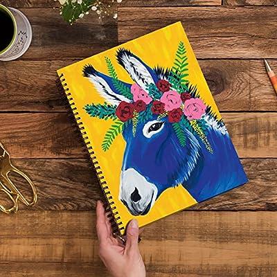 August 2018 December 2019 Orange Circle Studio 2019 Extra Large Spiral Planner Jose Donkey