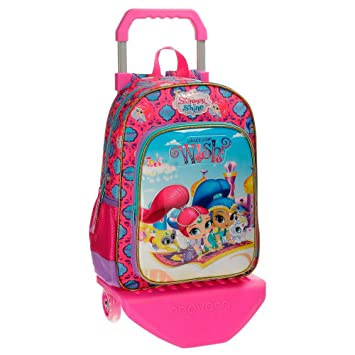 Shimmer and Shine Wish Mochilas infantiles, 38 cm, 13.22 litros, Multicolor: Amazon.es: Equipaje