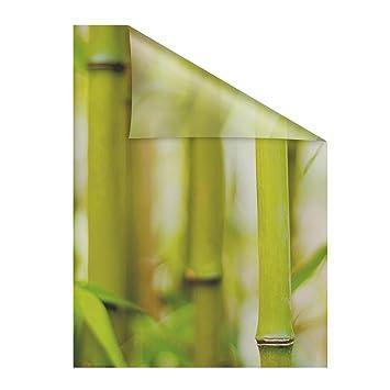 Lichtblick Fensterfolie Selbstklebend Sichtschutz Motiv Bambus