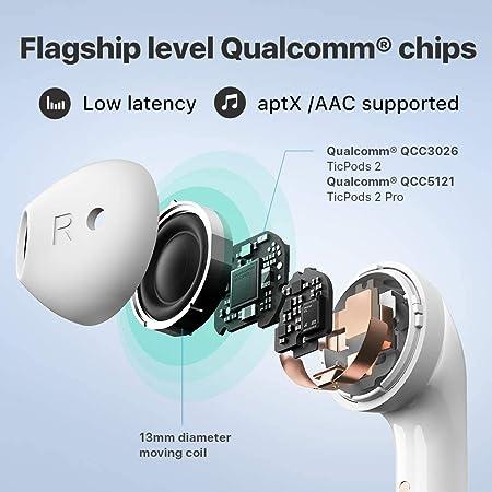 Ticwatch Ticpods 2 Bluetooth Kopfhörer Tws Kabellose Elektronik