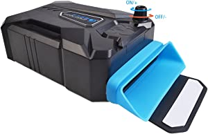 Cool Cold Vacuum Fan Laptop Cooler USB Air Extracting Laptop Cooling Fan Black