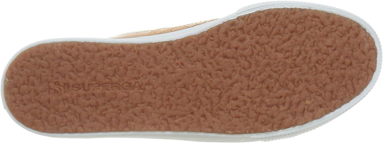 Superga 2790-syntcrocodilew gymschoenen voor dames Marrone Brown Biscuit 950