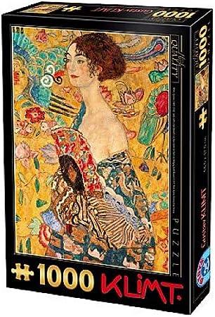 Femme avec Compartiments Gustav Klimt Unbekannt Puzzle 1000 pi/èces