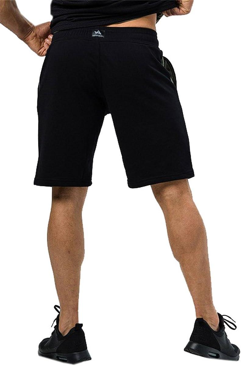 QZH.DUAO Mens Workout Drawstring Shorts