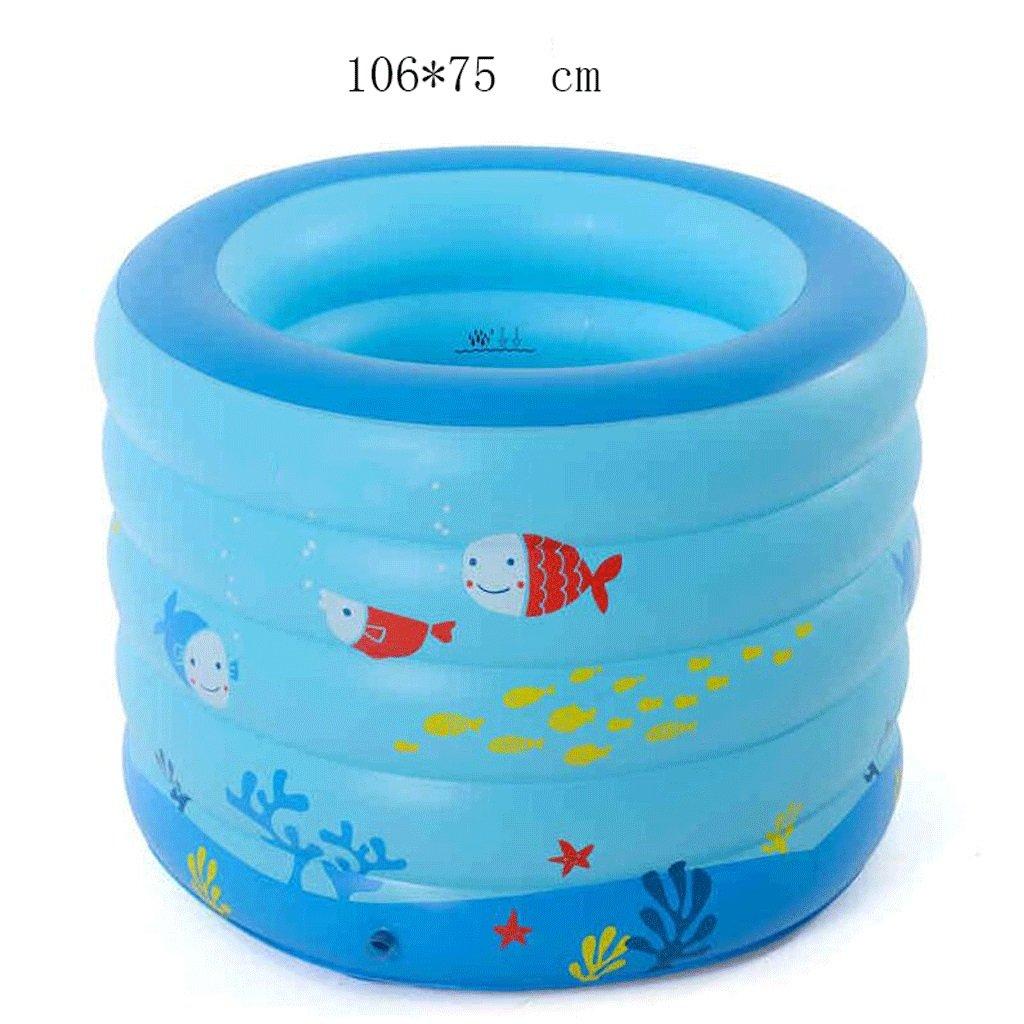 Aufblasbare Badewanne Infant Pool Aufblasbare Säugling Säugling Kind Schwimmbad Schwimmbad Große Schwimmen Faltende Badewanne, Badfaß
