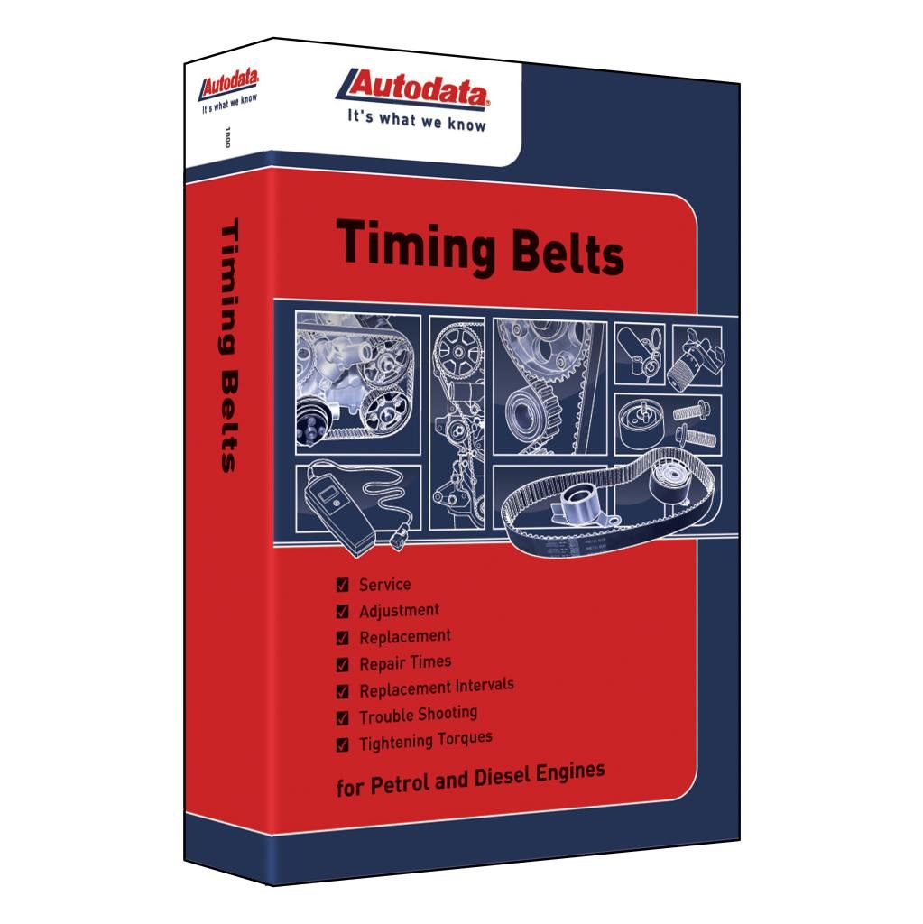 Autodata Timing Belts 2013 Book For Petrol And Diesel General Belt Books