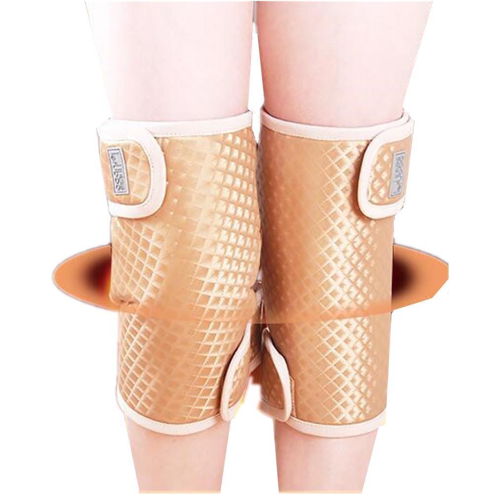 ELEGENCE-Zの灸温熱膝パッドは、腰部の古い漢関節温かい炎症の膝を保護する物理療法を保護する   B07BY1JN3Z
