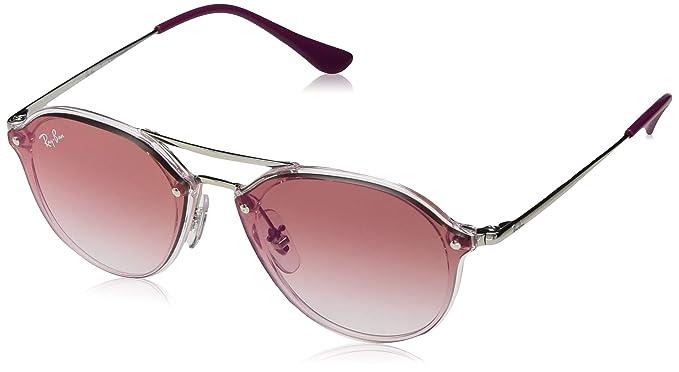 Ray-Ban JUNIOR 0RJ9067SN Gafas de sol, Transparente Pink, 53 ...