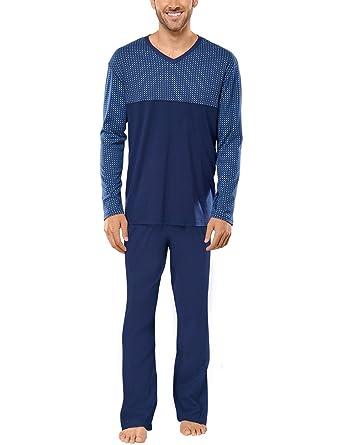 Schiesser Herren Zweiteiliger Schlafanzug Anzug Lang: Amazon.de: Bekleidung