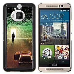 LECELL--Funda protectora / Cubierta / Piel For HTC One M9Plus M9+ M9 Plus -- Futurista Ciber coche --