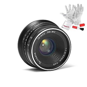 7artisans 25mm F1 8 Manual Focus Prime Fixed Lens for Fujifilm Fuji Cameras  X-A1 X-A10 X-A2 X-A3 X-at X-M1 XM2 X-T1 X-T10 X-T2 X-T20 X-Pro1 X-Pro2