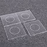 what is beadboard Sago Brothers Fuse Beads Boards Large Clear Pegboards for Kids 4 PCS