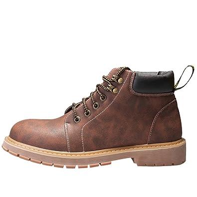 Chaussures à lacets Matchlife marron Casual homme vKpxu5