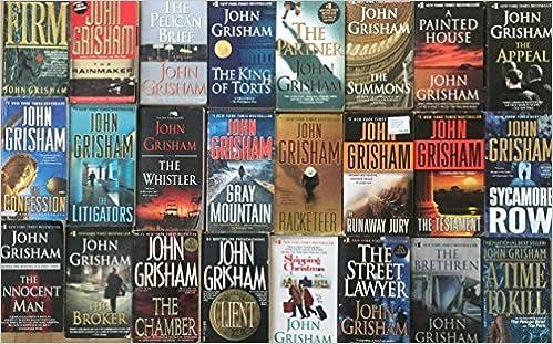 John Grisham Audiobook Collection (2019) - John Grisham