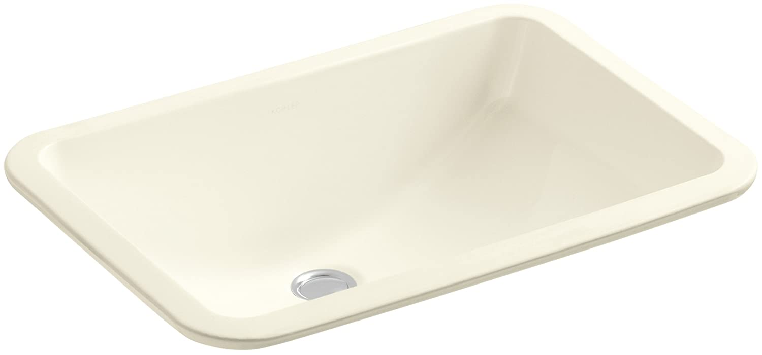 KOHLER K 2214 96 Ladena Undercounter Bathroom Sink, Biscuit   Vessel Sinks    Amazon.com
