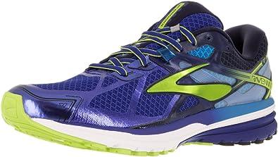 Brooks Ravenna 7, Zapatillas de Running para Hombre, Surf The Web/Lime Punch/Peacoat, 41 EU: Amazon.es: Zapatos y complementos