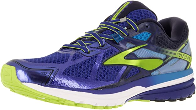Brooks Ravenna 7, Zapatillas de Running para Hombre, Surf The Web/Lime Punch/Peacoat, 41 EU: Amazon.es: Zapatos y complementos