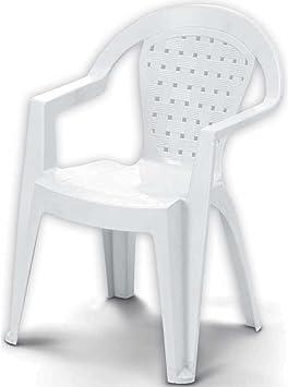 Sedie In Resina Colorate.Sedia Baby Mimi Con Braccioli Resina Colorata Per Bambini Casa