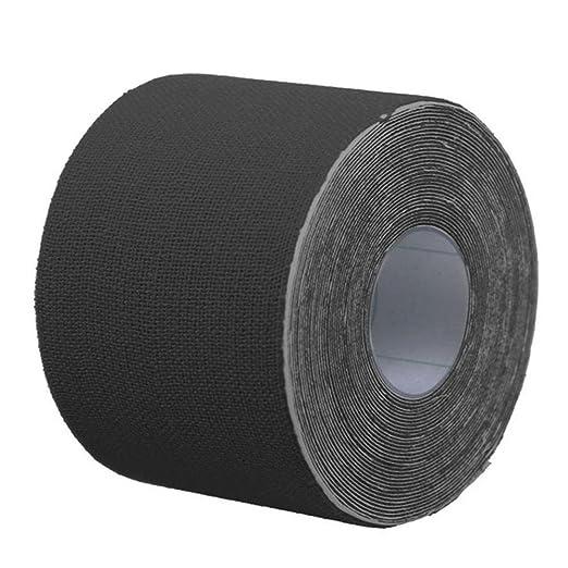 Cinta de Kinesiología, Meiwo 5m x 5cm Cinta elástica de algodón ...