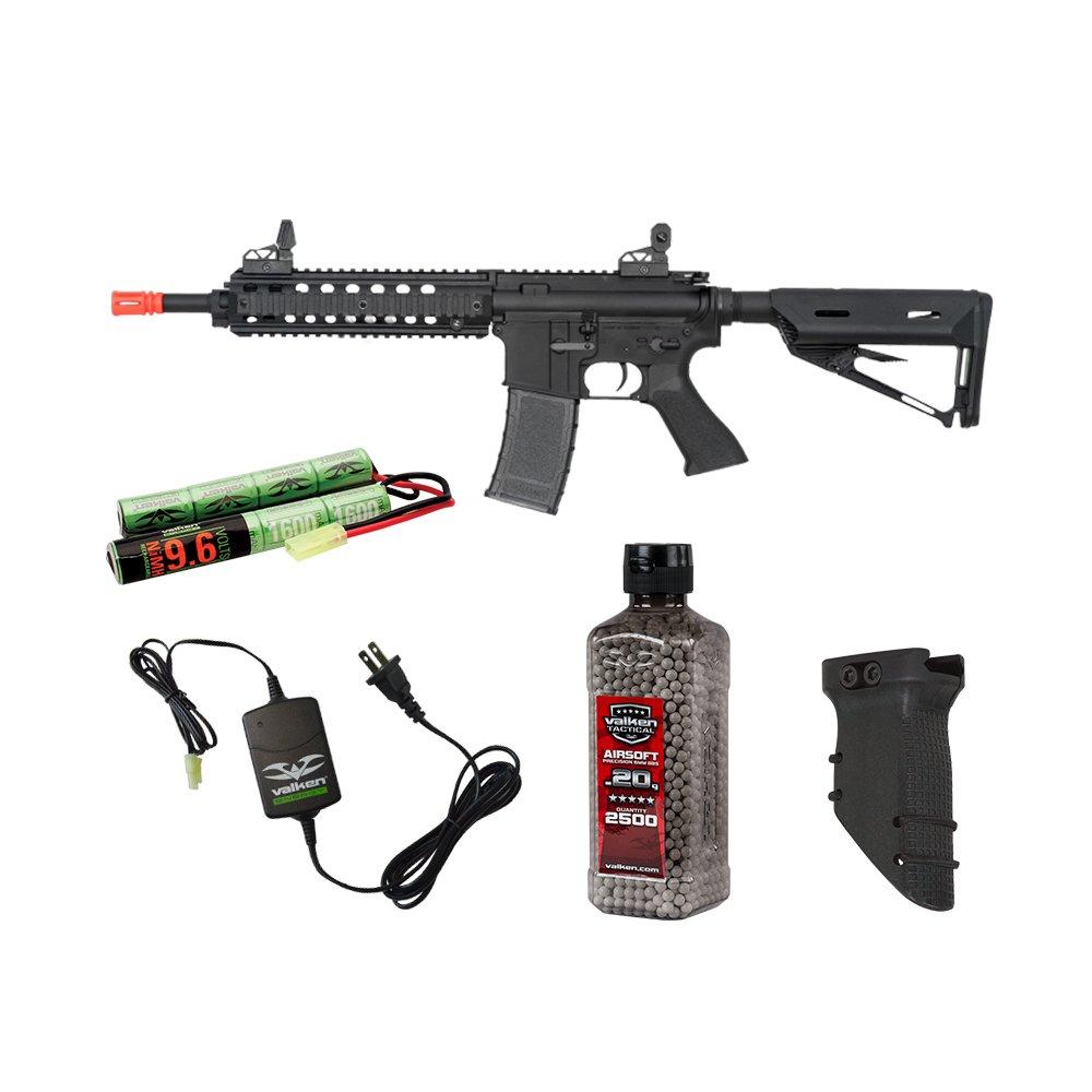 Valken Tactical Battle Machine Mod-M Covert Ops Airsoft Rifle Package by Valken Tactical