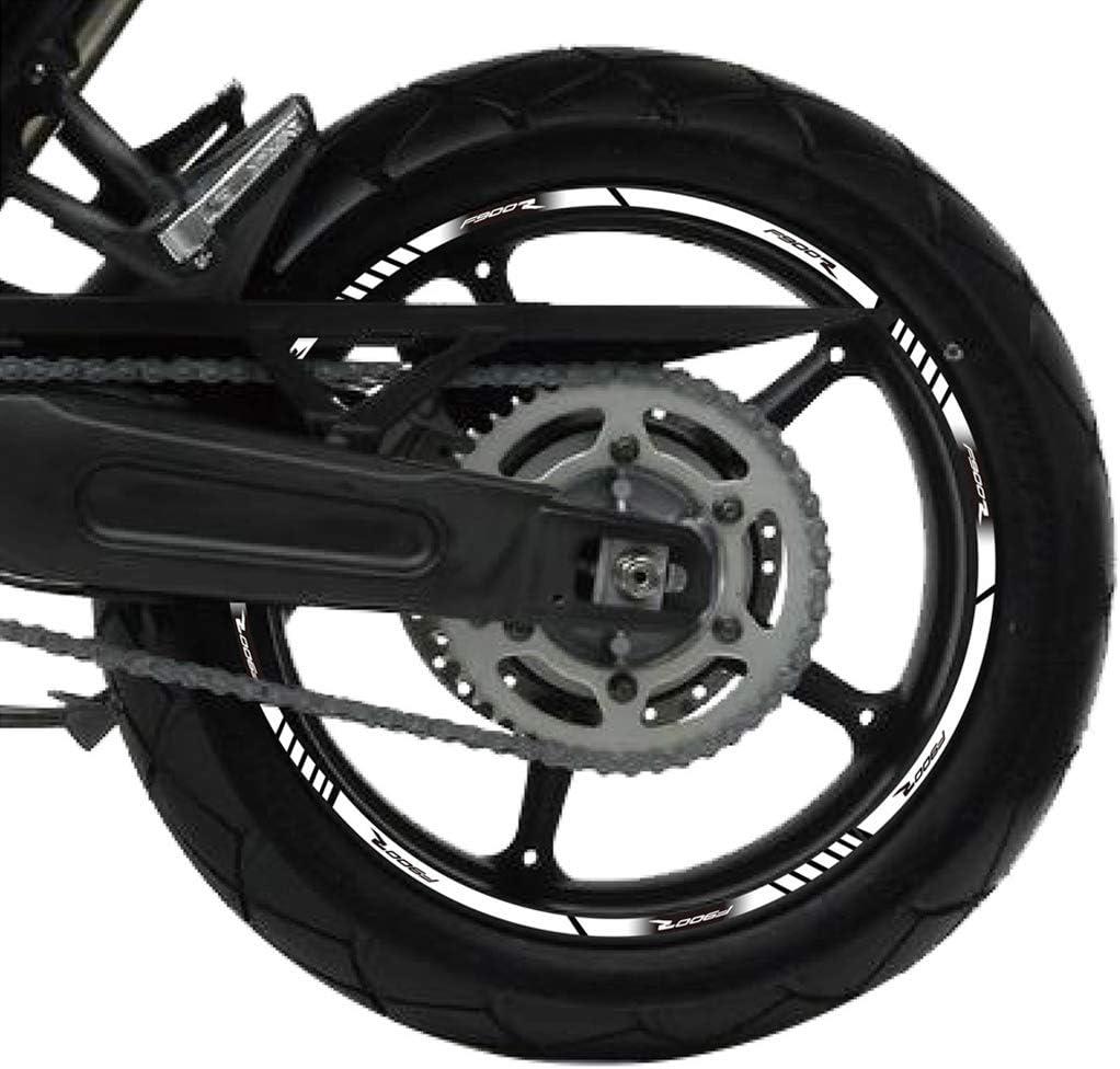 Psler Motorrad Felgenrandaufkleber Rim Stripes Aufkleber Für F900r Auto