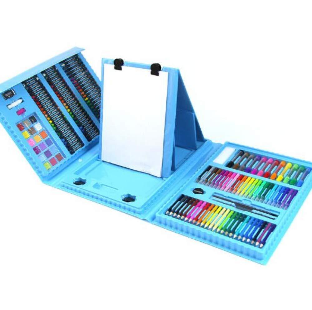 HQYDBB Kids Premium Art Set, 176 Set da Dipinto per Bambini, Scatola di cancelleria d'Arte per Scuola primaria