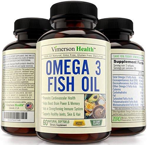 Omega 3 fish oil supplement non gmo 100 all natural for Non fish omega 3