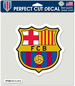 """WinCraft Soccer FC Barcelona Perfect Cut Color Decal, 8"""" x 8"""""""