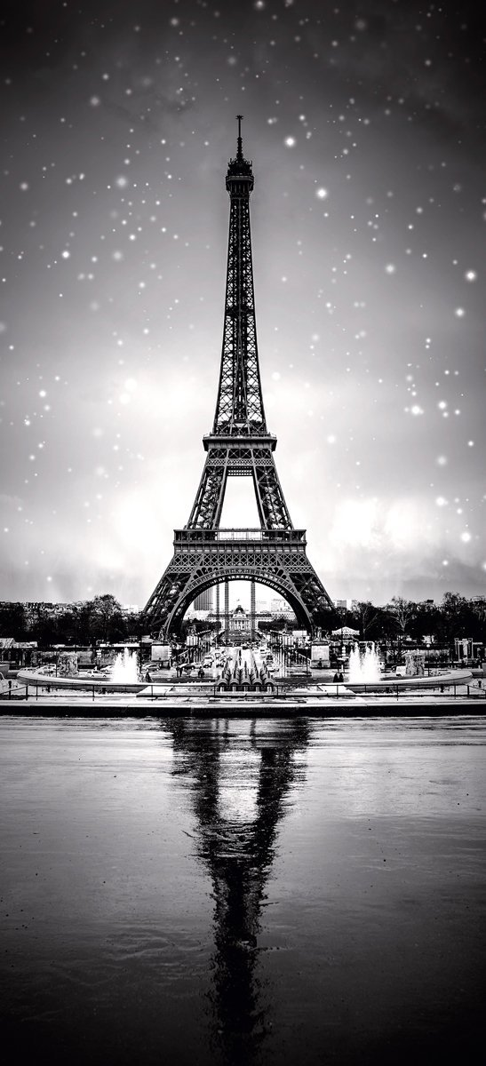 Eurographics ba4005Tour Eiffel 92X 202porta carta da parati, carta, multicolore, 202x 92x 0.33cm DD-BA4005