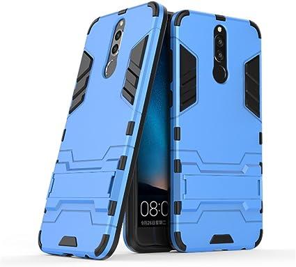 YHcase Huawei Mate 10 Lite Funda, [Armor Series] Combinación A Prueba de Choques Heavy Duty Escudo