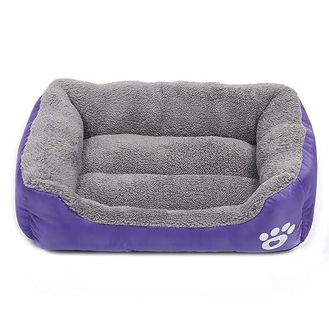 zhenghewyh Cama para Perros Gato Cesta Mascotas Pequeña Medio Grande Lavable (M:54 *