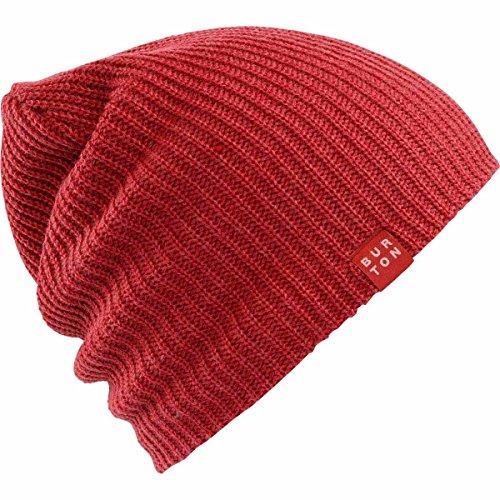 Burton All Day Long Beanie (Process Red) (Snowboard Beanie Ski Cap Skull)