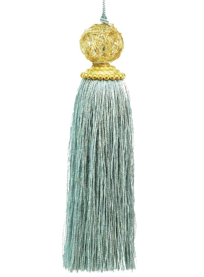 Vivid Wrap Ltd Gorgeous Silky Thread Tassel in Wine Colour