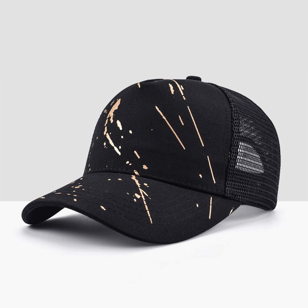 Vinteen Sombrero de Cap Hombre Malla de Verano Sombrero de Graffiti Gorra de B/éisbol Ocio Femenino Sunhat Versi/ón Coreana Marea Transpirable Sombrero de Lengua de Pato Sombrero Protector Solar