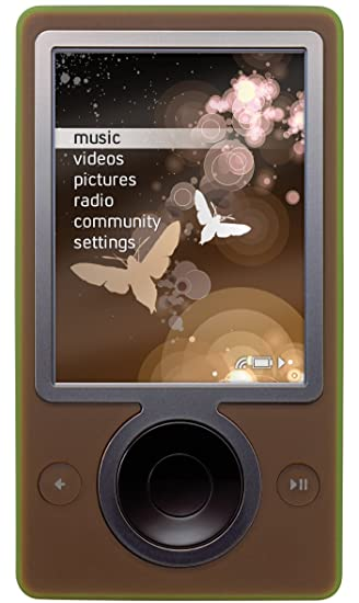 amazon com zune 30 gb digital media player brown microsoft home rh amazon com Red Zune 30GB Zune HD