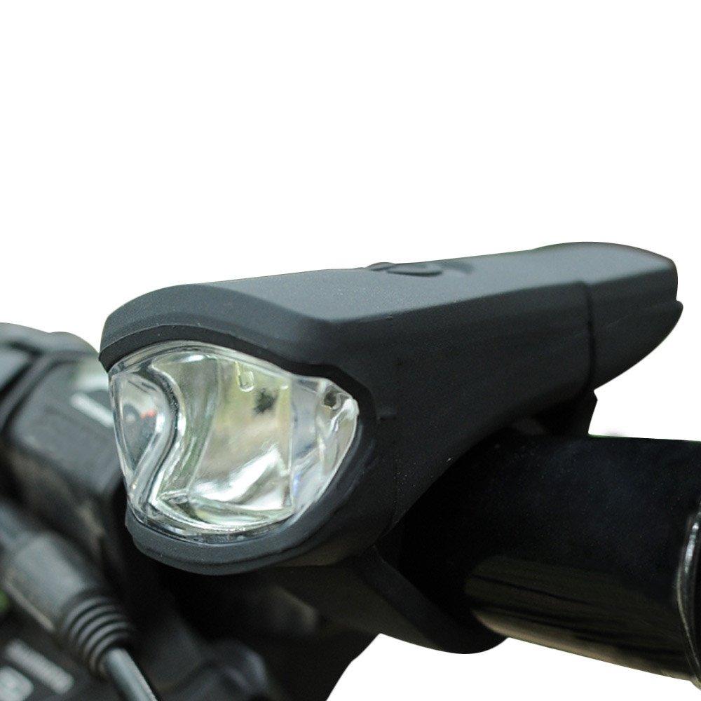 kashyk StVZO-Zulassung USB Wiederaufladbere LED Fahrradbeleuchtung,Regen und sto/ßfest Front Fahrradlicht Fahrradlampe Fahrradleuchte f/ür Nachtfahrer
