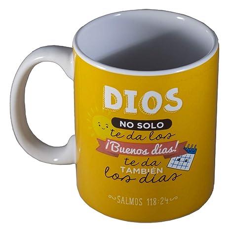 Taza Biblica Coleccion Compartelas Mug in Spanish - Buenos dias