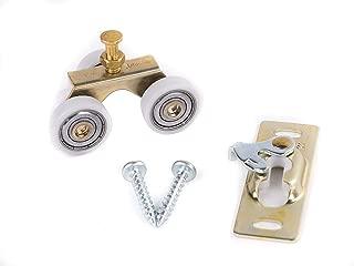 product image for Johnson Hardware Sliding Door/Pocket Door Hanger Ball Bearing 1125-1 Inch Wheel, 200 lb Capacity