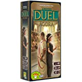 7 Wonders Duel Agora Board Game EXPANSION | Board Game for 2 Players | Strategy Board Game | Civilization Board Game | Board